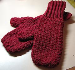 Free Crochet Patterns Flip Top Mittens : PatternLinks.com - Free Crochet Patterns Baby Mittens