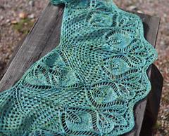 22 leaves shawlette