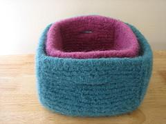 Felted Boxes