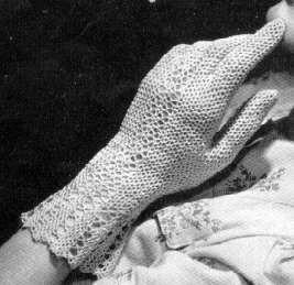 Fair Lady Gloves Crochet Glovesantique Crochet Glovesvintage Gloves