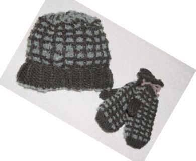 Windowpane Hat Pattern