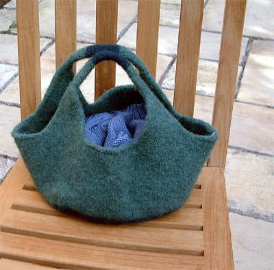 Knitting Pattern Central Bags : FREE KNITTING PATTERN FRENCH MARKET BAG   KNITTING PATTERN