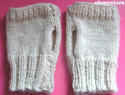 Cheats' Fingerless Gloves