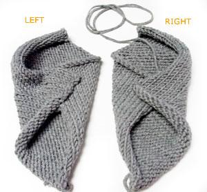 Free Knitting Patterns | Clothing » Mittens & Gloves