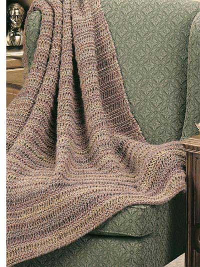 Dad's Drop-Stitch Throw