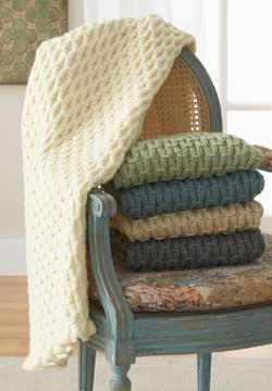 Cushy Smocked Throw
