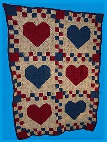 Country Hearts Quilt