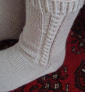 Alpaca Cable Socks