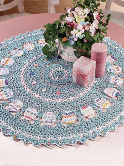 PatternLinks.com - Free Crochet Patterns | Home Decor » Tablecloths