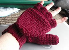 Crocheted Mittens / Fingerless Gloves