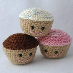 Amigurumi Cupcake for Crochet