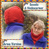 Cabled Scoodie and Neckwarmer - Aran version