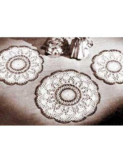 Radiant Doily Set