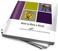 How to Knit Socks: A FREE pattern and eBook