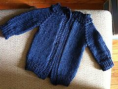 Aunt B's Basic Knit Baby Sweater