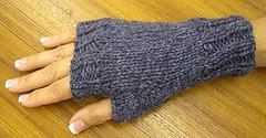 Easy Fingerless Mitts
