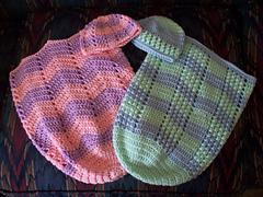 Loom Knitted Preemie Sleep Sacks and Baby Hats