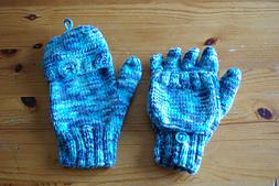 Fingerless Gloves with Flap
