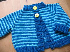 Baby Blueberry Cardigan