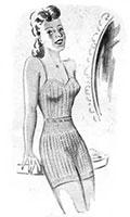 Lady's Vest and Knickers 1946