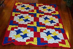 Big Top Crochet Quilt