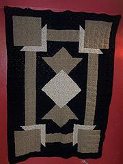 Art Deco Crochet Quilt