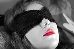 Ruched Sleep Eye Mask