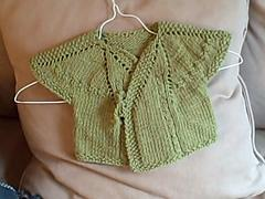 Cuddly Wrap Baby Sweater