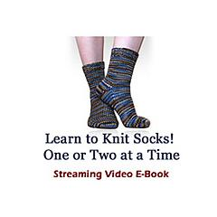 """Top-Down Socks: One Or Two At A Time On Magic Loop"" Video E-Book"