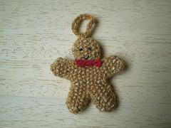 Free Knitting Pattern For A Gingerbread Man : PatternLinks.com - Free Knitting Patterns Seasonal   Christmas