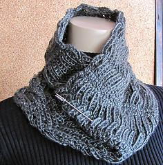 Chainmaille Cowl, Neckwarmer, & Men's long Scarf
