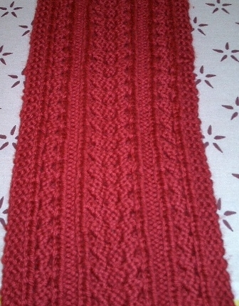 Free Crochet Pattern For Cable Scarf : crochet cable stitch hat Car Tuning